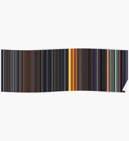 Moviebarcode: Sequence from Kill Bill: Vol. 1 - Chapter 3: The Origin of O-Ren (2003) [Simplified Colors] Poster