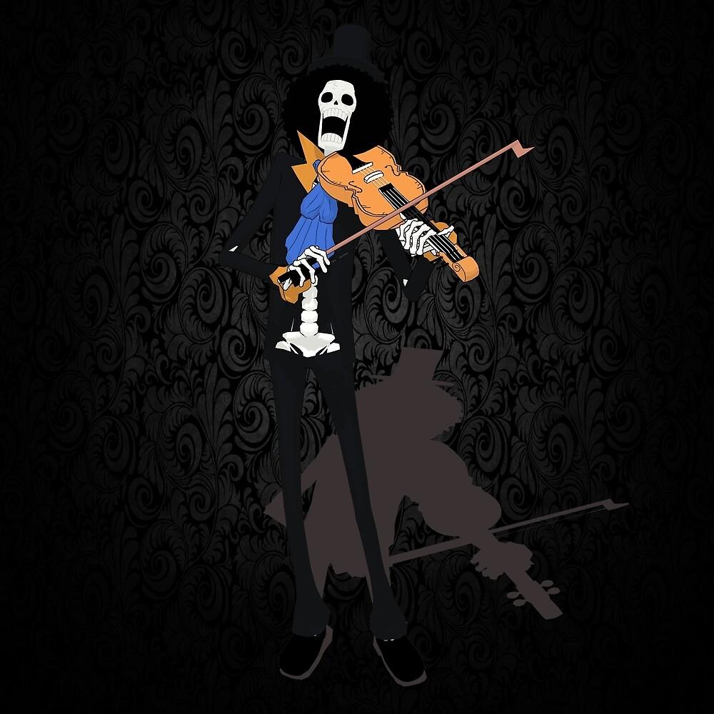 Music Skull by tanduksapi