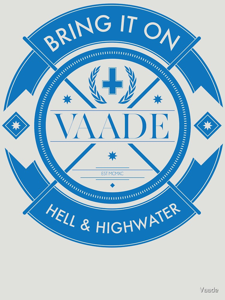 Crest Blue by Vaade