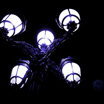 Lantern In The Night - Blue by MarkusTheLion