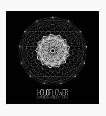 holoFlower - Featured in Fabulous Flowers banner proposal Photographic Print
