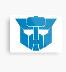 Transformers - Wreckers Logo Metal Print