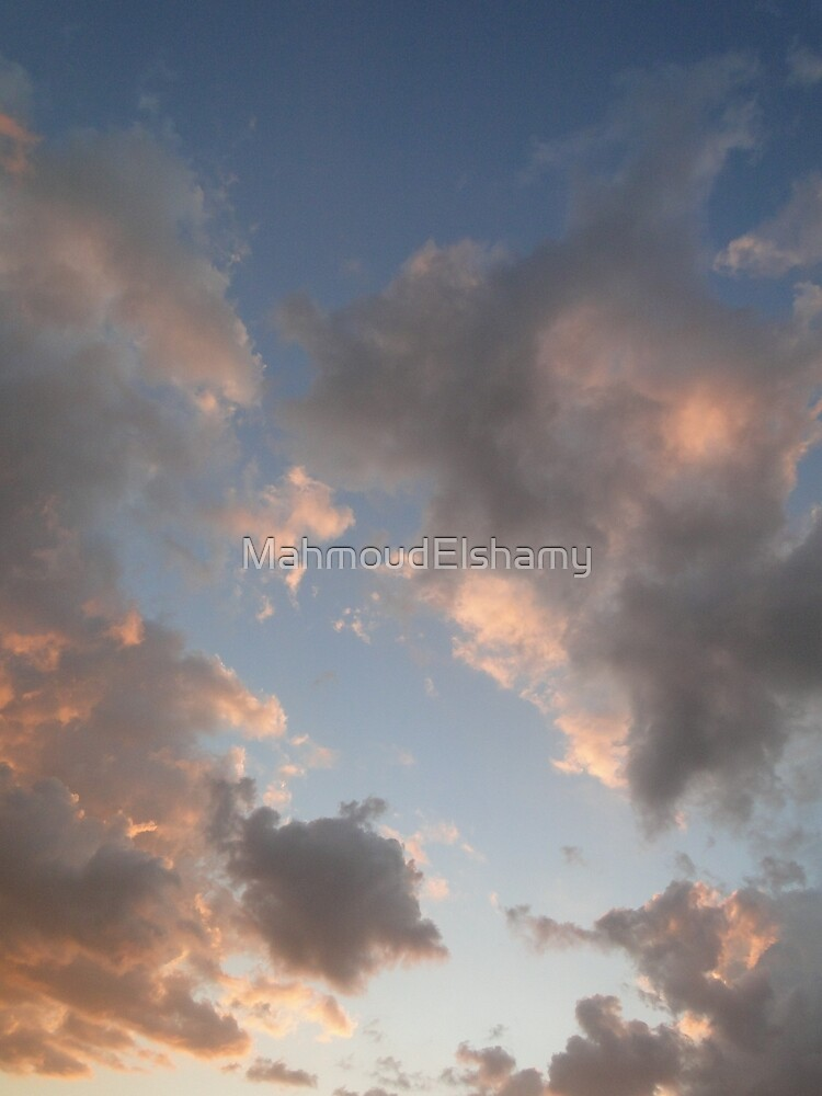 The Cloudy Sunset II by MahmoudElshamy