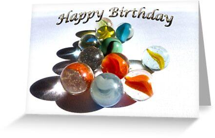 Happy Birthday Marbles by FrankieCat
