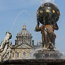 Atlas Fountain, Castle Howard, North Yorkshire by Nick Barker