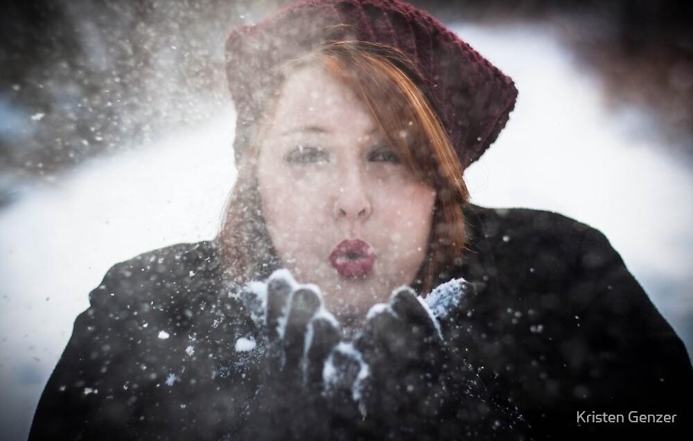 Self Portrait by Kristen Genzer