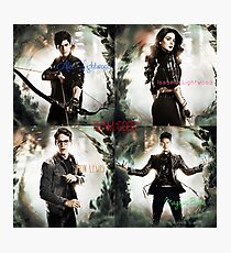 Team Good from the Mortal Instruments Photographic Print