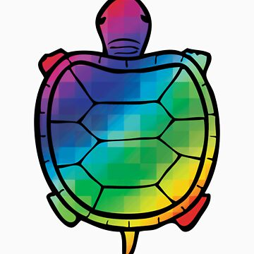 Color Swatch Turtle by Lewis-Morris