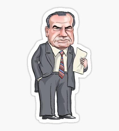 President Richard Nixon Sticker