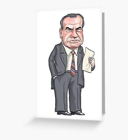 President Richard Nixon Greeting Card