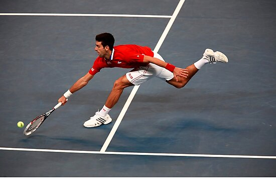 Novak Djokovic by Srdjan Petrovic