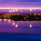 Dock Lights by martinilogic