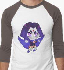 Teen Titans || Raven Men's Baseball ¾ T-Shirt