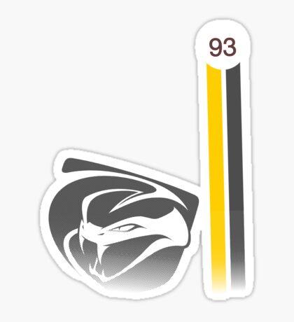 Viper GTS-R No. 93 Sticker