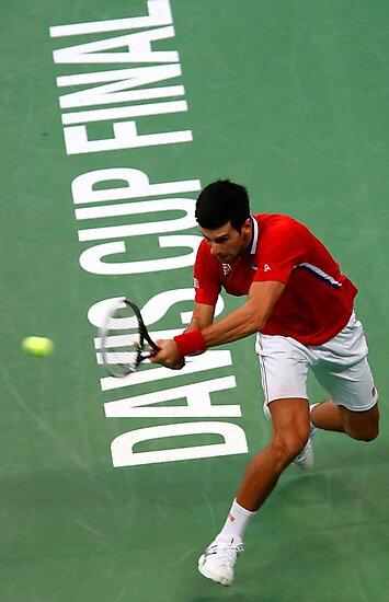 Novak Djokovic by Srdjan Petrovic
