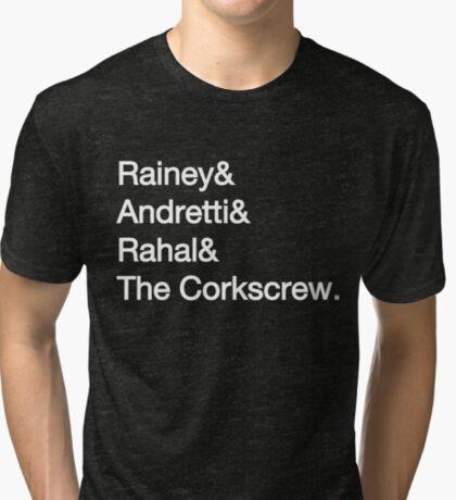 Laguna Seca Typography - Dark Edition Tri-blend T-Shirt