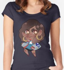 Young Avengers    Miss America Chavez Women's Fitted Scoop T-Shirt