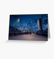 AAMI Park Stadium Greeting Card