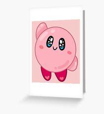 Nintendo || Kirby Greeting Card