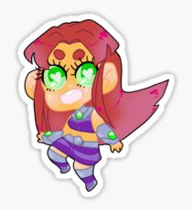 Teen Titans || Starfire Sticker