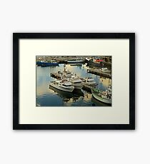 Hobart in the evening Framed Print