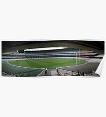 Melbourne Cricket Ground Panorama Poster