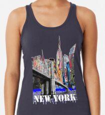 Camiseta de tirantes para mujer Nueva York Graffiti