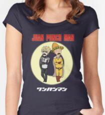 Juan Punch Man Women's Fitted Scoop T-Shirt
