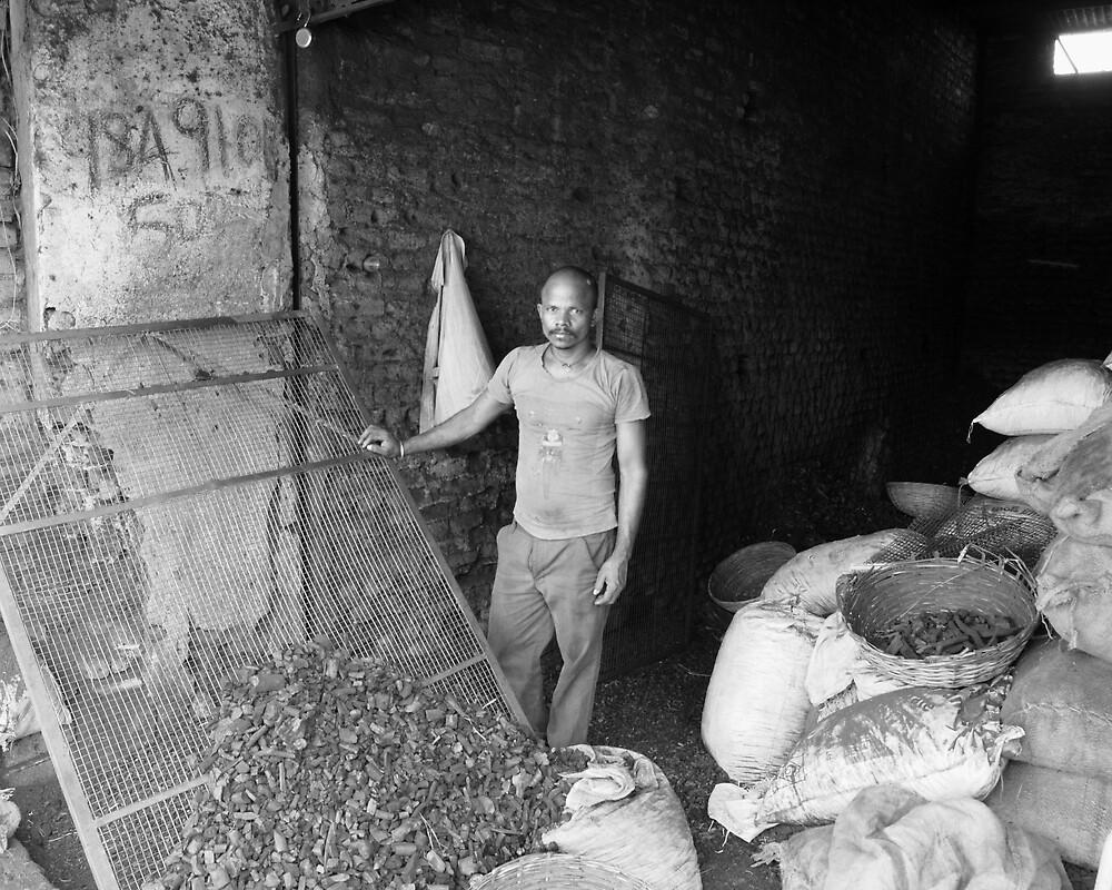 Coal Merchant Hyderabad by Andrew  Makowiecki