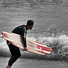 Brighton Surfer by JLaverty