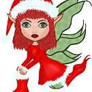 Christmas Fae by pixiewildflower