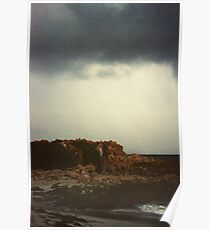 Storm rolling in Trigg Island Poster