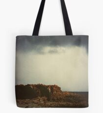 Storm rolling in Trigg Island Tote Bag