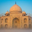 Glowing Taj Mahal by Inge Johnsson