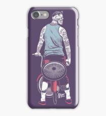 Low Ride Skull WithTattoo iPhone Case/Skin
