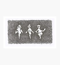 'Gene Kelly, Ginger Rogers, Fred Astaire' Photographic Print