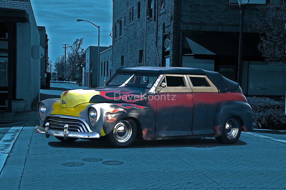 1947 Ford Rat 'After Midnight' Rod by DaveKoontz