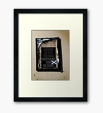 Ours Framed Print