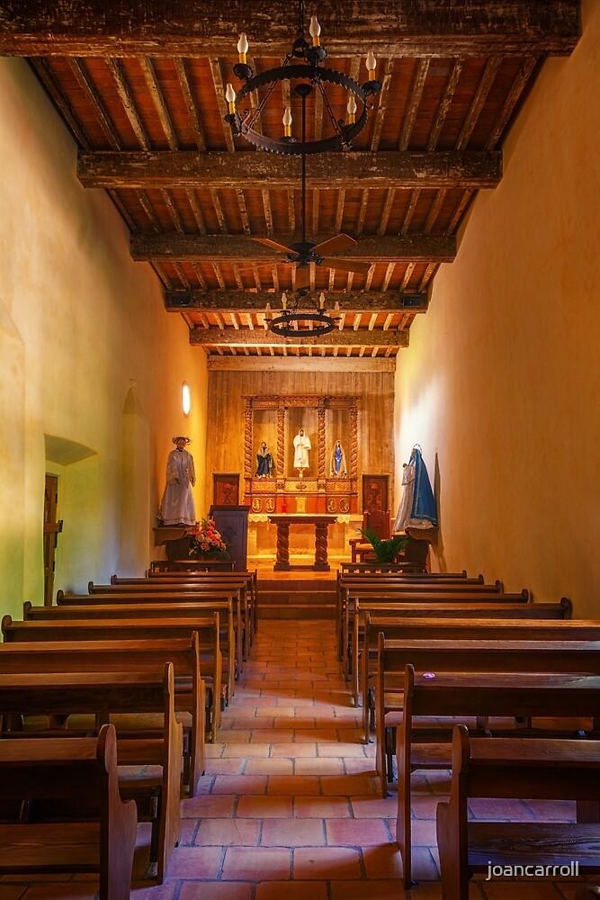 Mission San Juan Capistrano Chapel Vertical by joancarroll