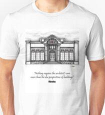 Architecture Elevation Unisex T-Shirt