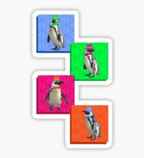 Perfect Penguin Portrait Sticker