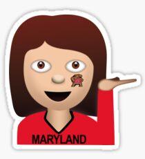 Maryland Sassy Girl Emoji Sticker