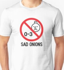 Ashens - 0-3 Sad Onions Unisex T-Shirt