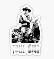 true grit Sticker