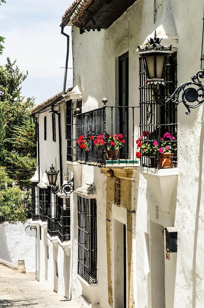 Streets of Ronda  by Andrea Mazzocchetti