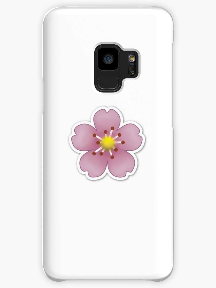 Pink flower emoji cases skins for samsung galaxy by brogy2323 pink flower emoji by brogy2323 mightylinksfo