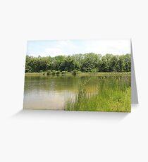 Lakeside Cane Greeting Card