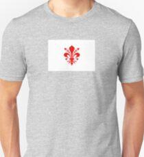 Flag of Florence, Italy Unisex T-Shirt