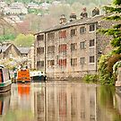 Reflections on the Rochdale Canal by Stephen Knowles