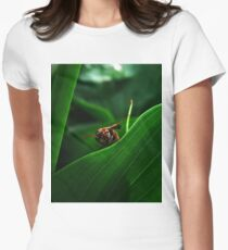 When The Hunt Began Women's Fitted T-Shirt